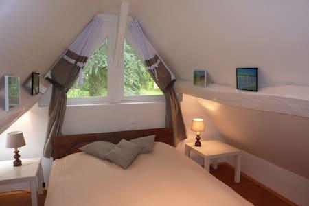 Little cottage in a large garden - Guernanville - Casa