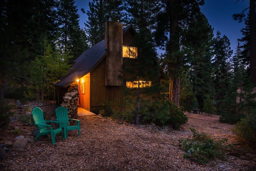 Cabin: nighttime