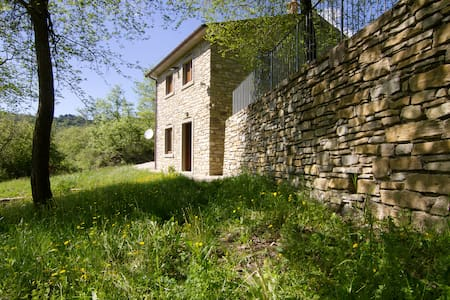 Vacanze in Podere a Sansepolcro - Pieve Santo Stefano - Haus