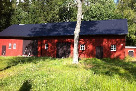 Traditional Swedish Forest House - Ed - Casa