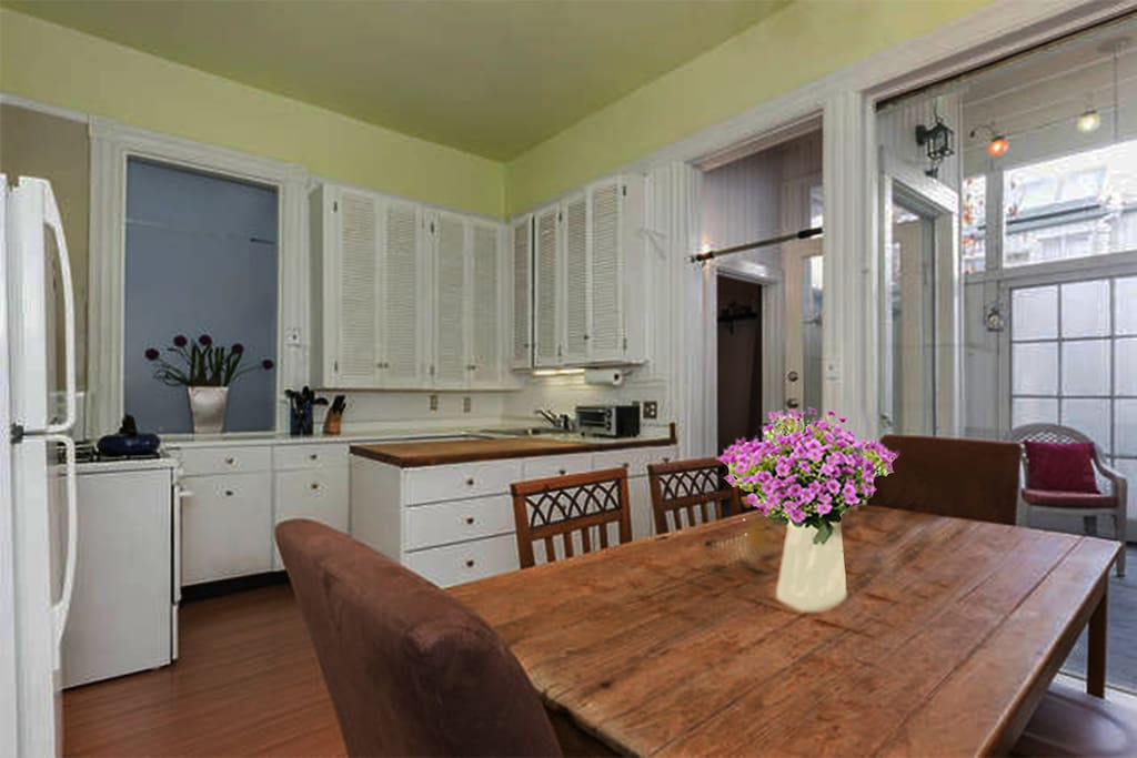 Stylish & fun 1 bd 1 ba  Victorian