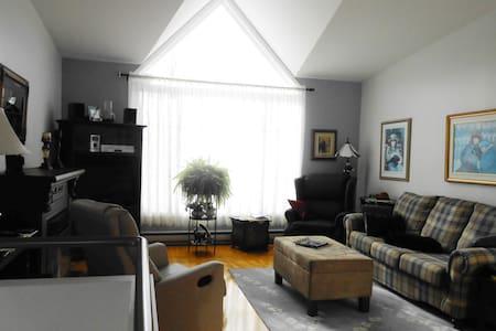Chambre lumineuse avec lit double - Saguenay
