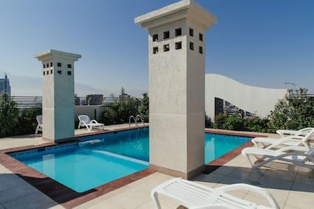 Forestal Park, Pool & great views. - Recoleta - Apartment