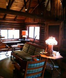 Cozy Log Cabin on Penobscot Bay  - Castine