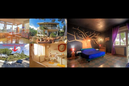 BlueRoom - Temples/Garden/kitchen/Wifi/Transports - Villa