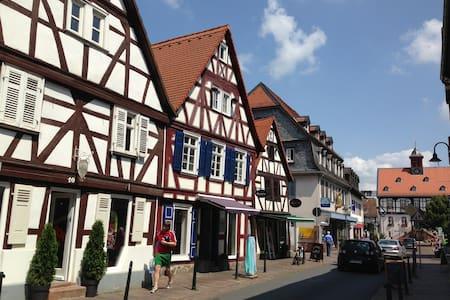 18 min to Frankfurt Messe inclusive Parking - Bad Vilbel - Appartement