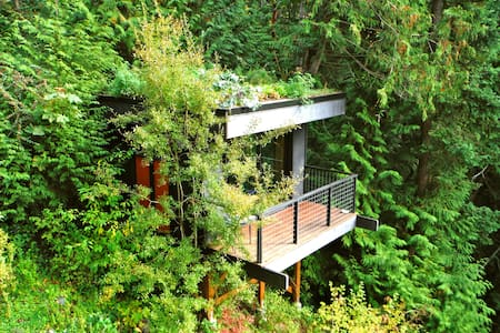 Pleasant Bay Lookout - Bellingham - Baumhaus