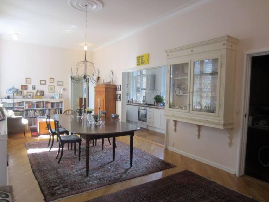 Very spacious dining room