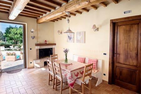 Borgocuore:casa Lavanda & Rosmarino - Todi - House