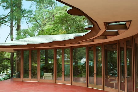 Frank Lloyd Wright Cooke House - Virginia Beach - Maison