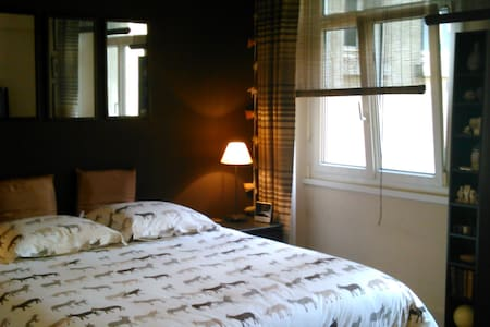 St Malo intra chambre lit double160 - Apartment