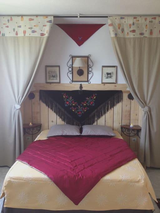 "La chambre ""Petite Camargue"""