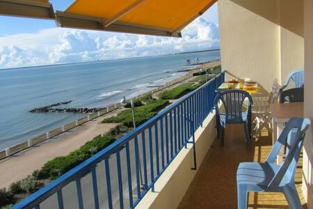 Apt 2ch 4/5 pers balcon Vue Mer Tharon Plage - Saint-Michel-Chef-Chef