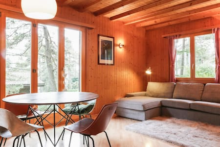 Family chalet at the foot of Jura - Chalet