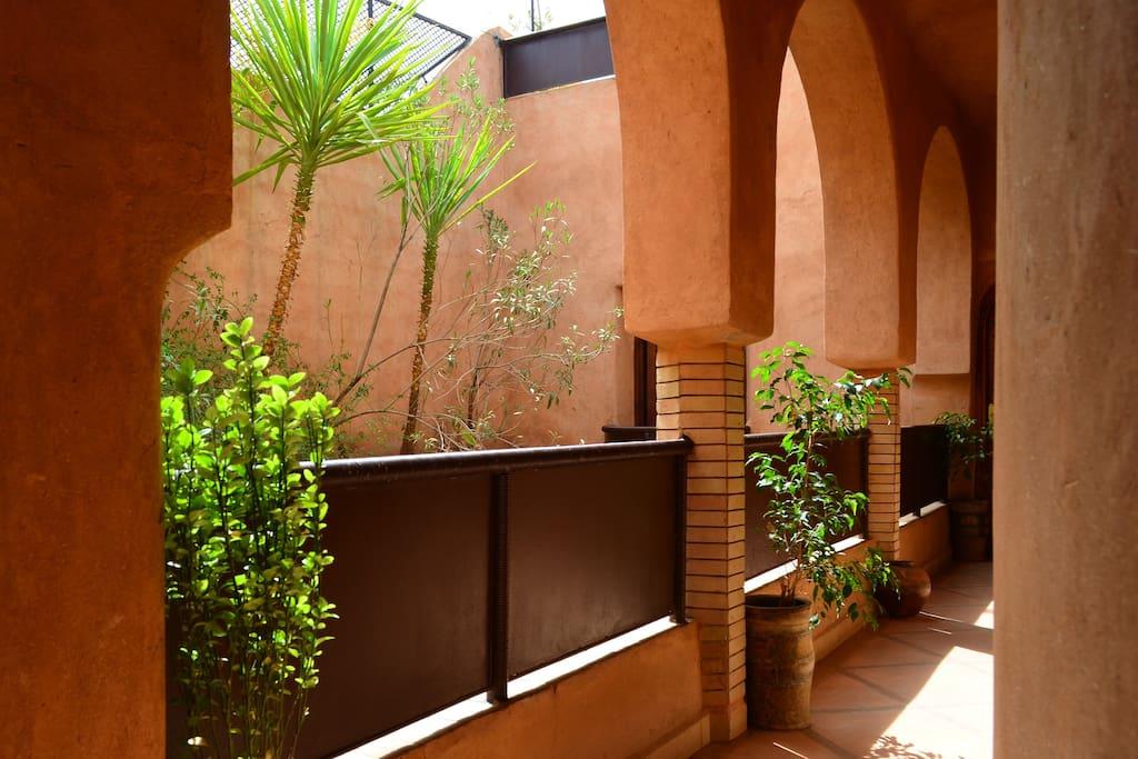 Riad  - the whole house