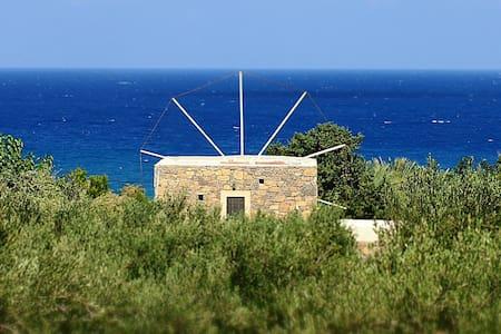 Authentic Cretan stone windmill