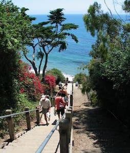 Retreat Room w/bath - Steps 2 Beach - Santa Barbara - Haus