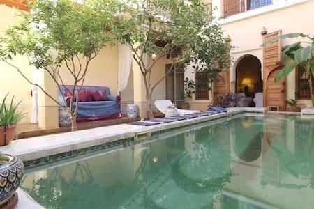 Riad en exclusivité 200 m2 piscine
