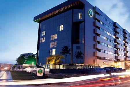 Flat em hotel beira mar Maceió - Apartmen