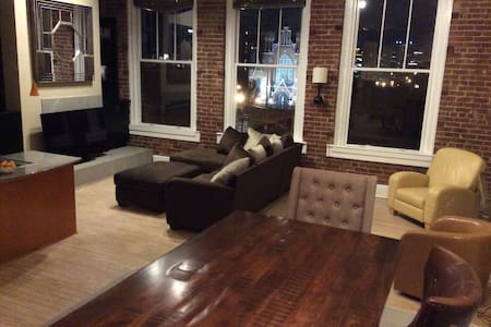 Sanctuary loft in historic area.