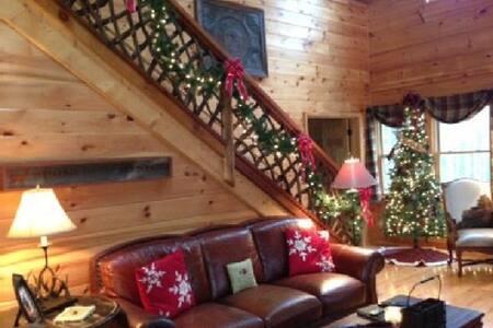 Christmas cabin w/hot tub & privacy - Vilas