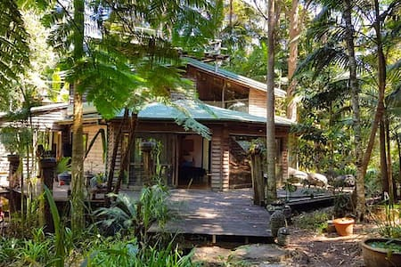 Cloud Temple Rainforest Retreat - Byron Bay - Haus