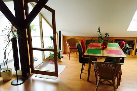 Room in OLD TOWN/CENTER, LARGE TERRACE - Prague - Flat