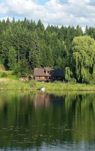 Lake front house! - House