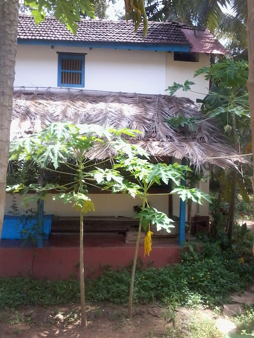 View of second house with heritage rooms.