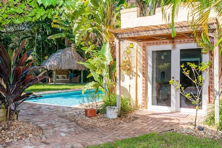Cozy and charming cottage   - Biscayne Park - Huis
