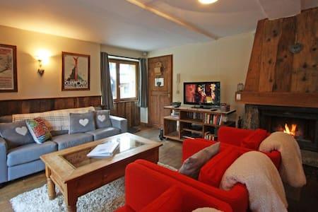 Rustic 4 bdrm in Flegere/ Les Praz - Appartement