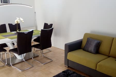 Modern Apartment in a private house with parking - Ljubljana