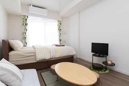 Tokyo New apt NEAT1BR 6min→STA near Ueno TV+$0WiFi - Apartment