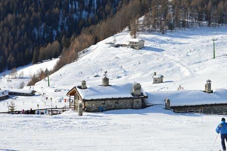 Appartamento Punta Cian soggiorno alpino esclusivo - Torgnon - Appartamento