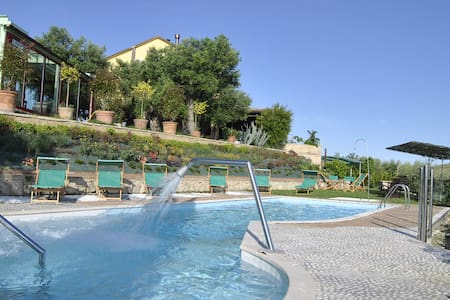 Luxury Villa in Marche countryside POOL free wine - Villa