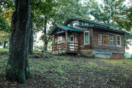 Ozark Cabin near Fayetteville-views - West Fork - Cabaña