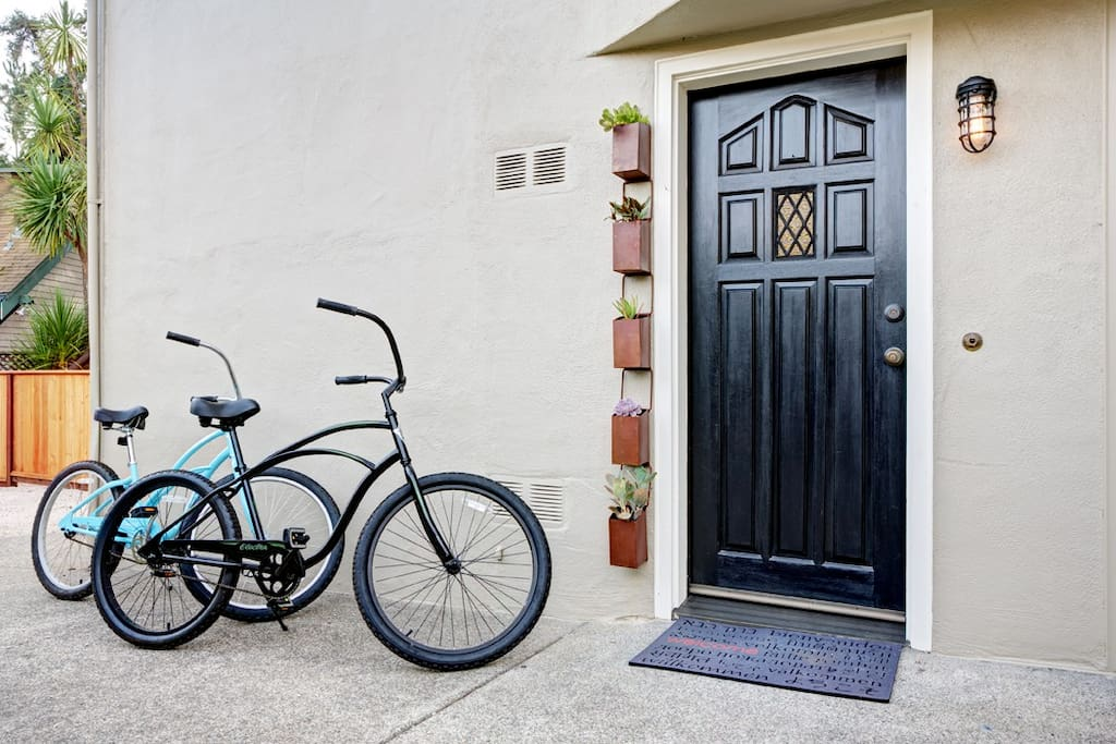 Two bicycle's provided complimentary upon your stay.
