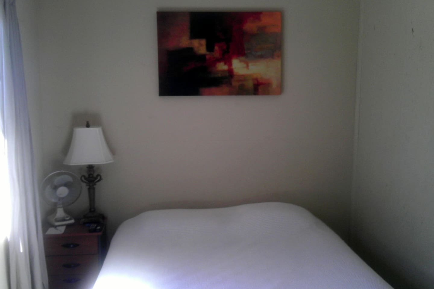 Basic simple room - comfortable bed. Good value.