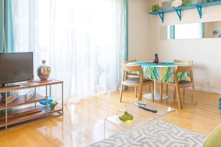 Modern, Airy and Bright 1 BR apt.