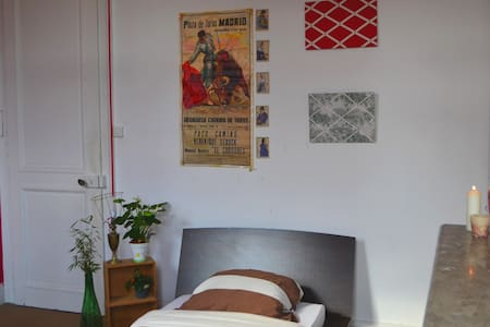 Chambre équipée 1 pers prox. Lille - Mons-en-Barœul - Bed & Breakfast