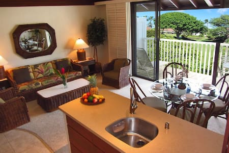 Kiahuna 49 Remodeled Top End Unit Close to Beach! - Condominium