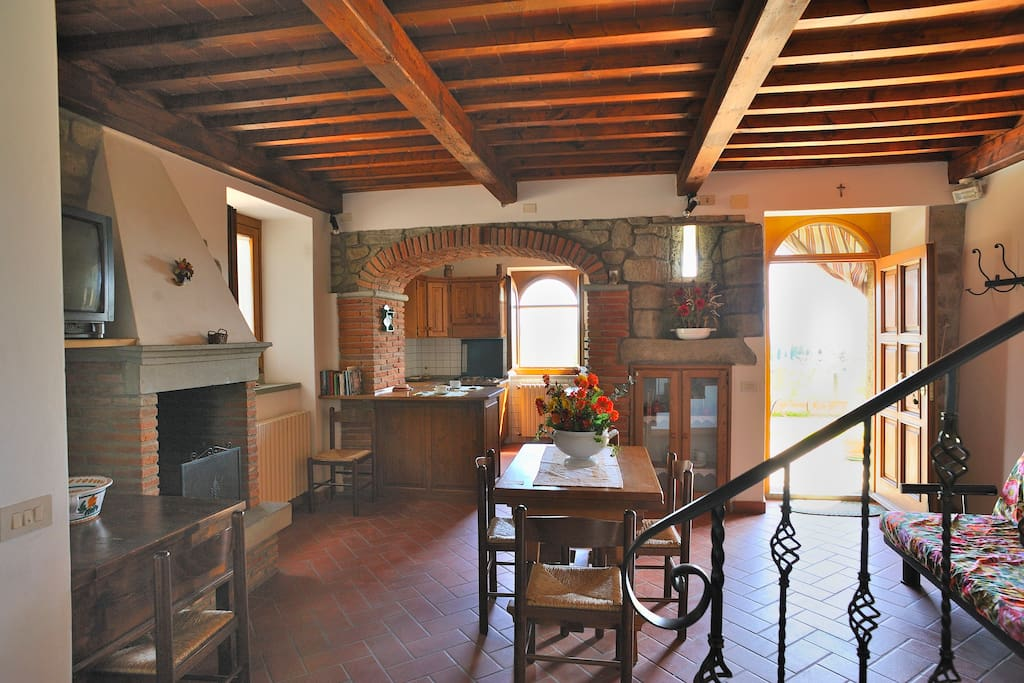 in Tuscany holiday home Noceta