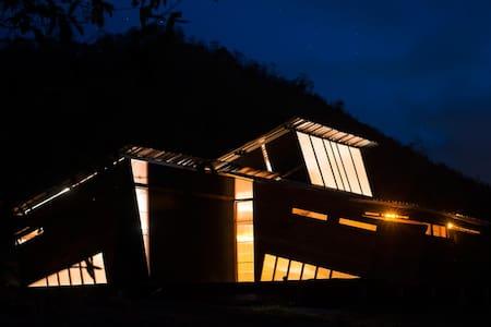Eco-arquitectura Ecuador river sea - Chalet