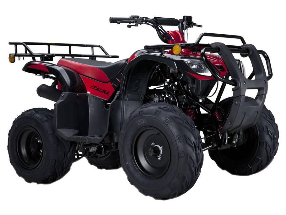ATV comes with the house to get you around SMA. Safe and easy to drive. A 2nd ATV is available.