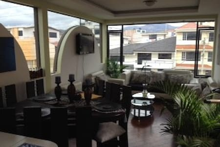 Cozy apartment with amazing view to  hills - Riobamba - Apartamento