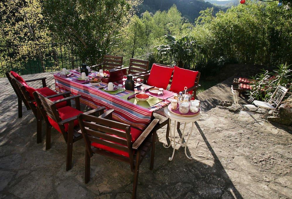 Le mas des pots rouges bed breakfasts louer cros - Le mas des pots rouges ...