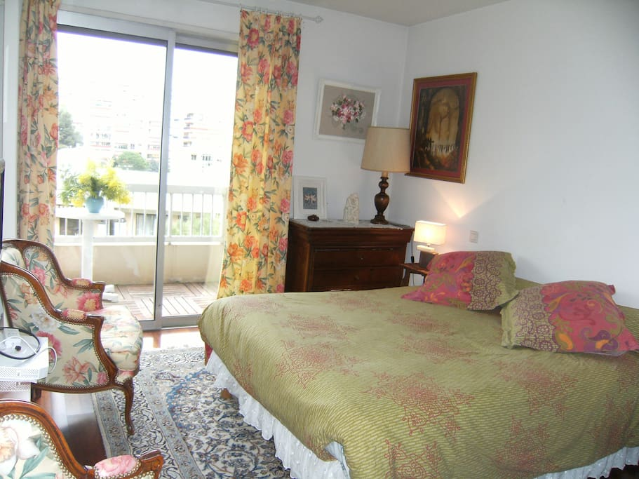Chambre chez mada nice bed breakfasts louer nice for Chambre a louer nice
