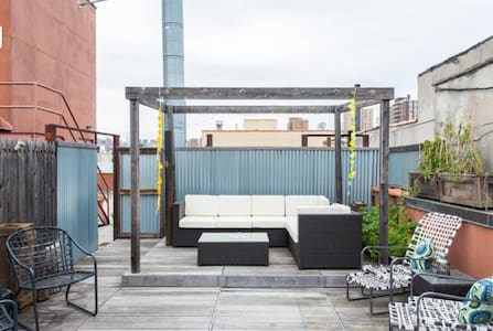 2BR PENTHOUSE w Private Roofdeck - New York - Apartment