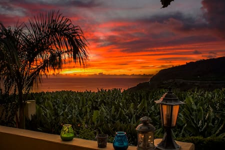 amazing sunsets from your veranda - Tazacorte - Appartement