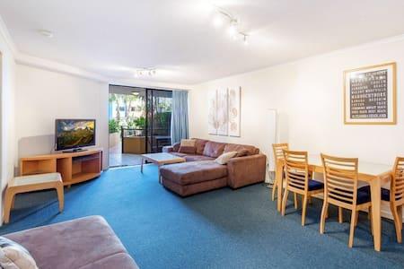 2 Bedroom beachside apartment